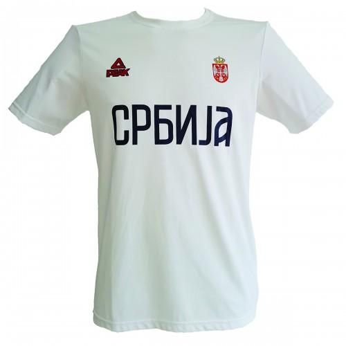 majica bela srbija