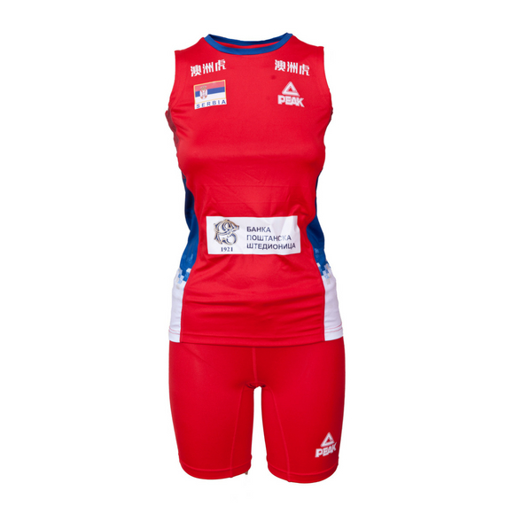 Odbojkaški dres ženski crveni 2018 Srbija