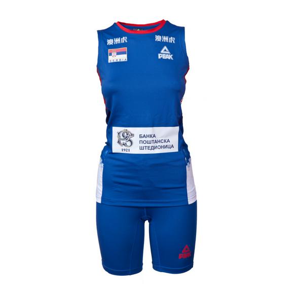 Odbojkaški dres ženski plavi 2018 Srbija